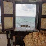 Weg nach Cala Bona Ausblick Meer