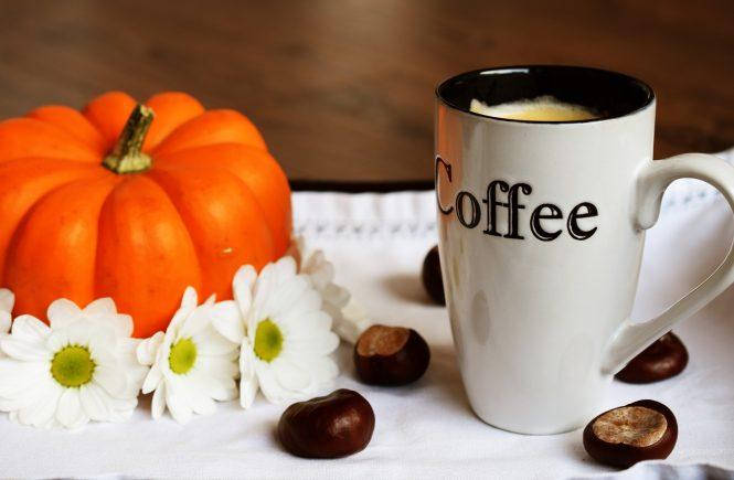 Kürbis latte
